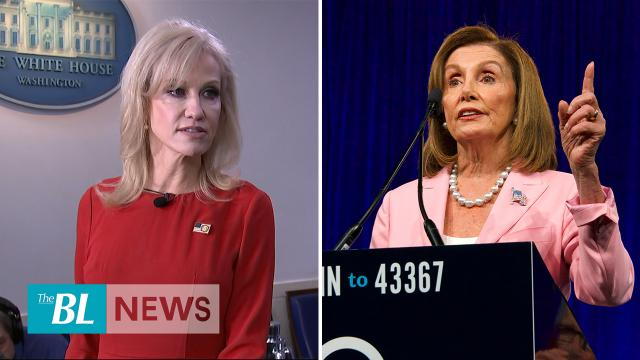 Conway says Pelosi not a woman of her word on USMCA