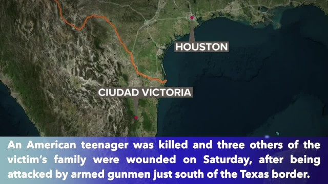 American family attacked in Mexico, 13-year-old child killed
