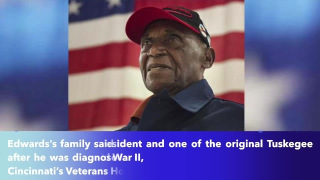 Leslie Edwards, Cincinnati's Tuskegee Airman, died at the age of 95