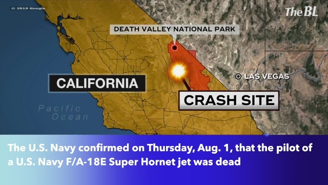 Navy pilot confirmed dead in Navy fighter jet crash that injured 7 on the ground in California