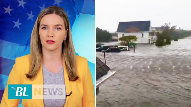 Hurricane Dorian floods homes in the Carolinas