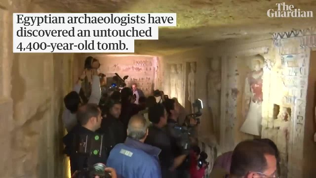New discovery in Egypt reveals a 'One-of-a-kind' tomb that's astounding archeologists