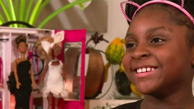 9-years-old Macomb County girl's passion for designing clothes for Barbies gets noticed by Mattel.