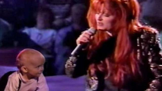 Wynonna Judd adorably serenades her baby boy Elijah with 'My Angel is Here.'