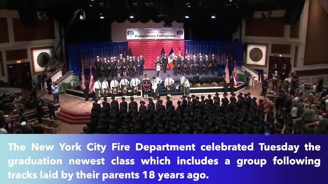 13 children of fallen 9-11 firefighters graduate from FDNY training academy