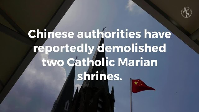 Faithful Catholics risk their lives to stop destruction of Chinese shrine