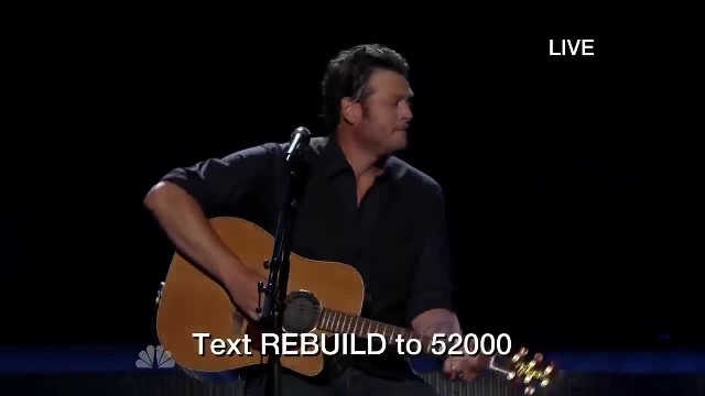 Usher Joins Blake Shelton In Emotional Duet Of 'Home'