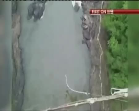 Her Bungee Cord Snapped and She Fell 360 Feet Into Crocodile Infested Waters But That Was Just The B
