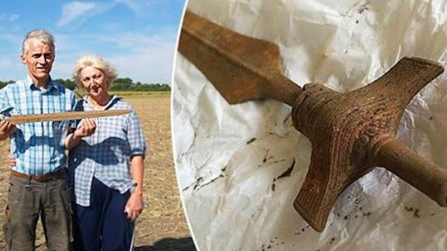 Well-preserved 3,000-yr-old pre-Viking sword unearthed in Denmark is still sharp
