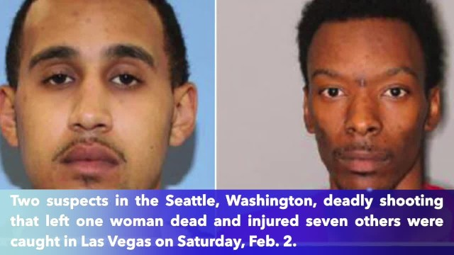 Two wanted suspects in deadly downtown Seattle shooting arrested in Las Vegas