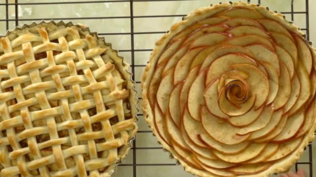 I had apples so I made apple pies, yummy, yummy !!