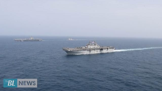 U.S. Carrier Strike Group displays Lethality in Arabian Sea