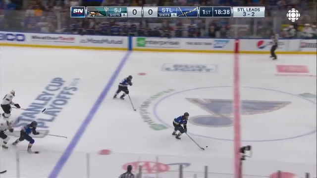 NHL Highlights  Sharks vs. Blues Game 6 – May 21 2019