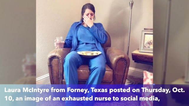 Texas sister shares photos of her twin to remind how hard labor and delivery nurses work