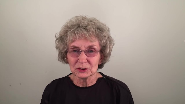 "76-year-old loses husband and starts over with new look making her say ""Va va voom"""