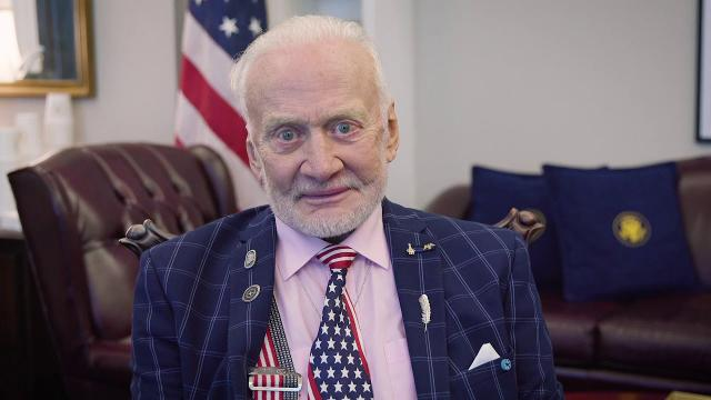 Buzz Aldrin on Apollo 50th Anniversary