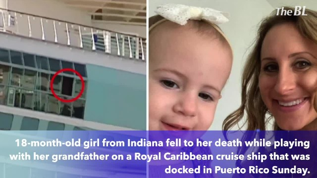 Toddler dies after falling from cruise ship