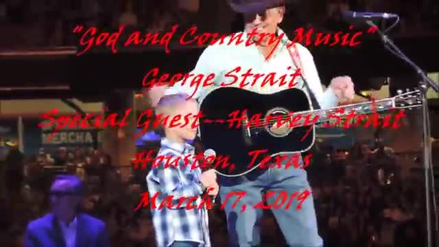 George Strait and grandson sing 'God And Country Music' duet