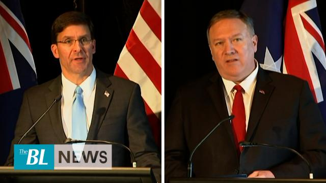 Top US officials meet Australian, New Zealand defense chiefs for talks