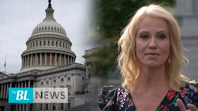 """""""We now have an impeachment enquiry based on nothing"""": Kellyanne Conway speaks bluntly to media"""