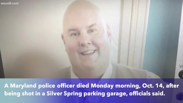 Maryland 13-year police veteran Thomas Bomba shot, killed in Silver Spring parking garage