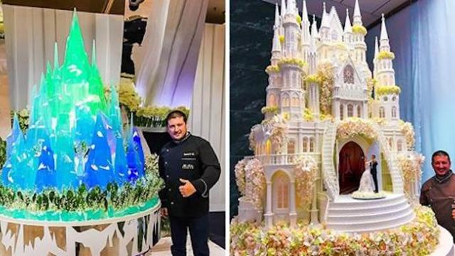 A Russian confectioner makes cakes that are so magnificent, any museum would love to expose them