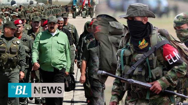 Maduro's regime support ELN and FARC guerrillas