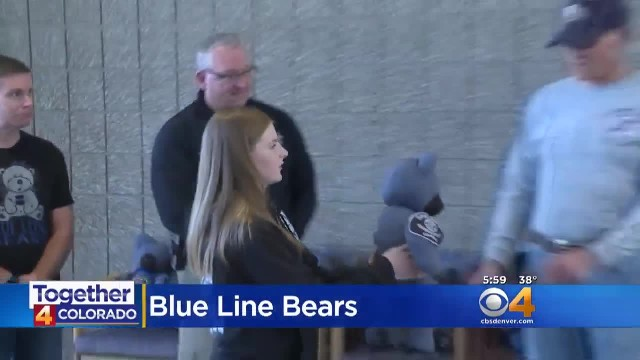 Teen Creates Teddy Bears from Uniforms of Fallen Officers To Comfort Grieving Families