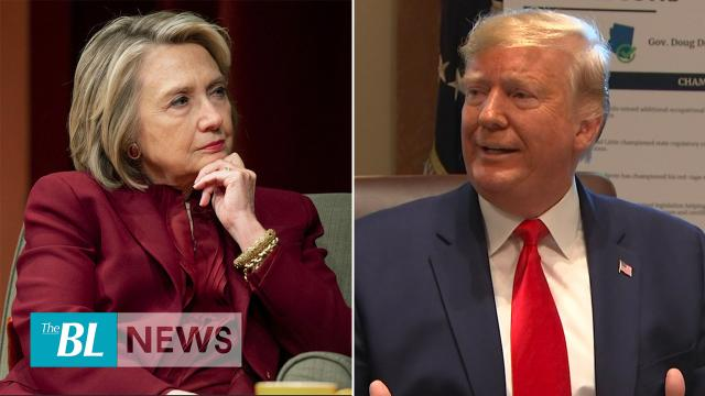 Trump criticizes Hillary Clinton's comments and says Dems are crazy