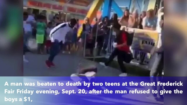 Two teens fatally punch, spit on 59-year-old man who wouldn't give them $1