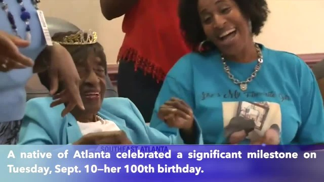 Native of Georgia celebrates her 100th birthday