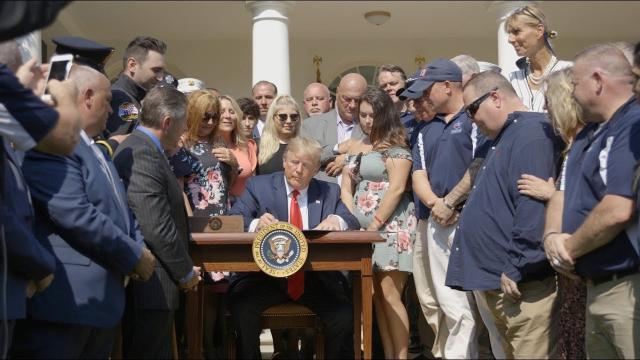 President Trump Signs The September 11th Victim Compensation Fund