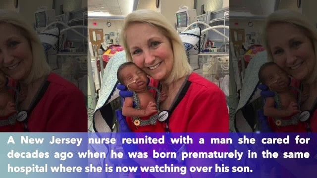 NICU nurse who treated newborn also treated baby's father decades earlier