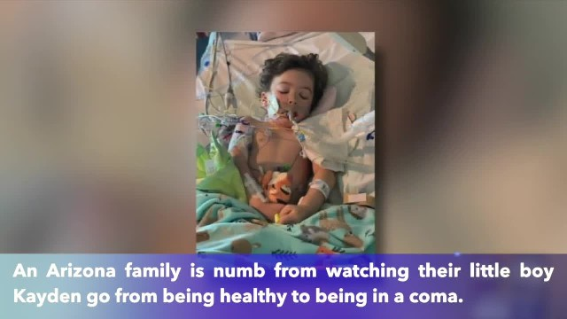 3-year-old Arizona boy goes into coma after suffering from the croup