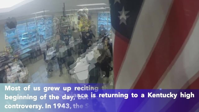 Kentucky high school brings back the Pledge of Allegiance in morning announcements