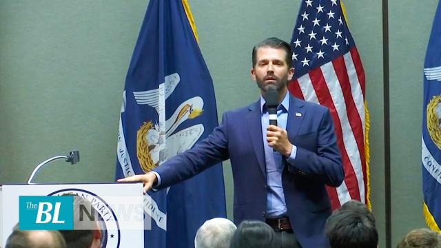 Trump Jr. blasts Biden Ukraine connection