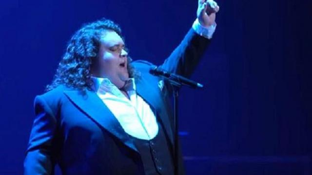 Everyone's eyes brimmed over at Jonathan Antoine's angelic rendition of 'Unchained Melody'