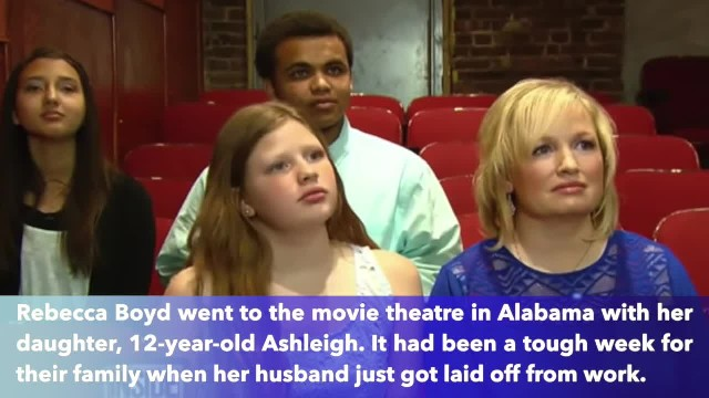 Mom asks rude teens to be quiet in movie theater then their mother contacts her