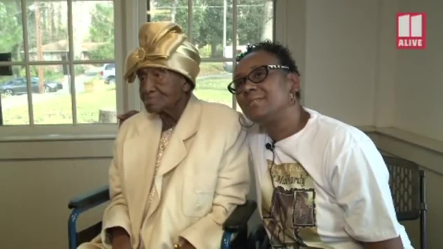 Woman From Georgia Celebrates 111 Birthday In Golden Style, And Credits Faith In God For Long And Ha