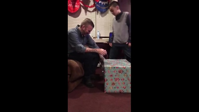 11-yr-old saves up all his birthday money to surprise dad with epic gift