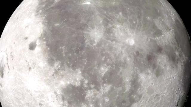 NASA finds water on moon's lunar surface