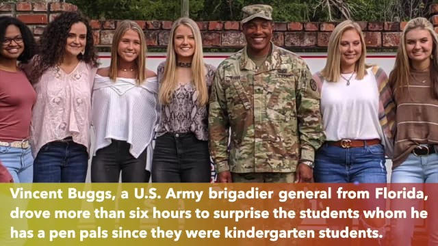 13 years later, Florida soldier meets students who wrote him letters while he was in Iraq