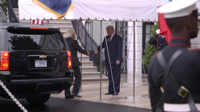 President Trump Welcomes Visit of President Mattarella of the Italian Republic