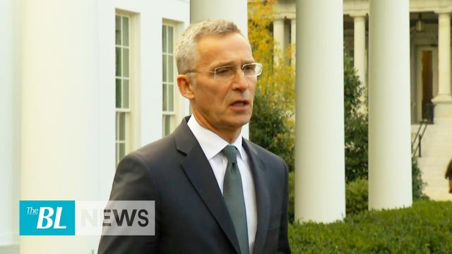 NATO secretary general says coalition is strong