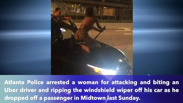 Georgia woman bites Uber driver and damages car for no reason