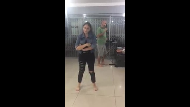 Israeli dad and daughter's adorable dance video goes viral