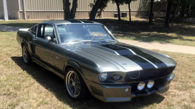 'Gone In 60 Seconds' – 1967 Ford Mustang Shelby GT500 – Eleanor for sale