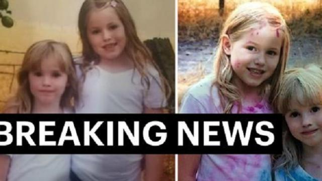 Two Californian sisters, aged 5 and 8, are found ALIVE 1.4 miles away from their woodland home 44 HO