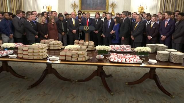 The BL News—President Trump serves up Chick Fil A to NDSU Football Champs