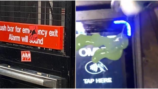 Antifa group launches mass anti-police action in New York City subways